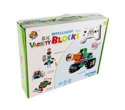 Robotic Bloks Uzaktan Kumandalı Motorlu 237 Parça.